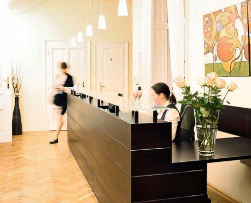 Arzt Rezeption Orthopaede Wien